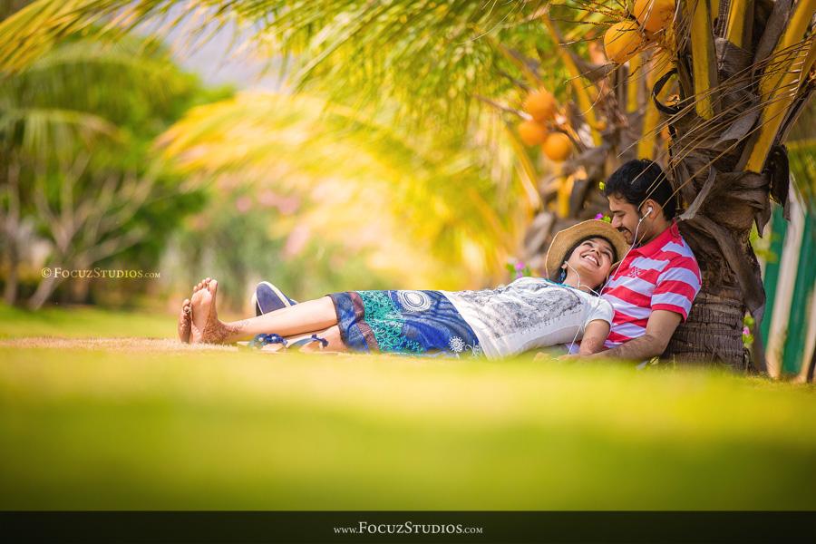 Post Wedding Shoot in Pondicherry