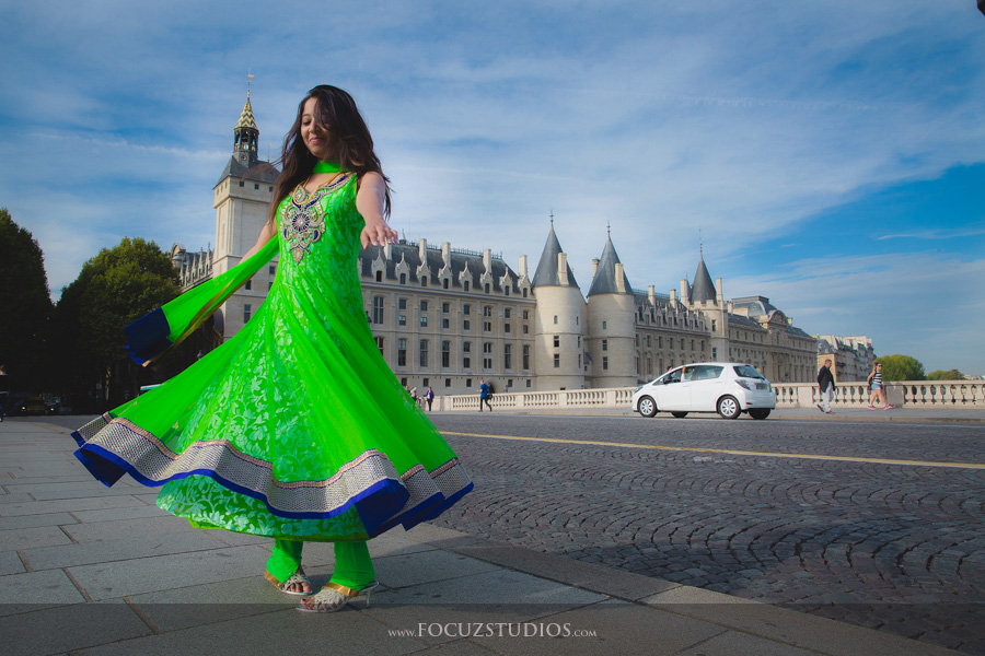 Pre Wedding Shoot in Paris