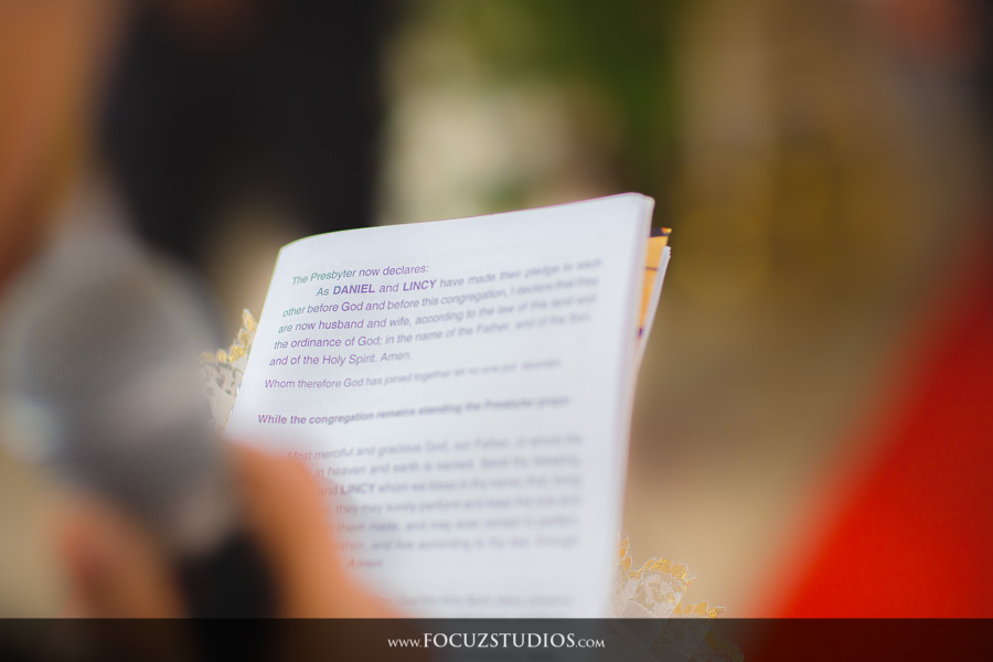 South Indian Christian Wedding Photography
