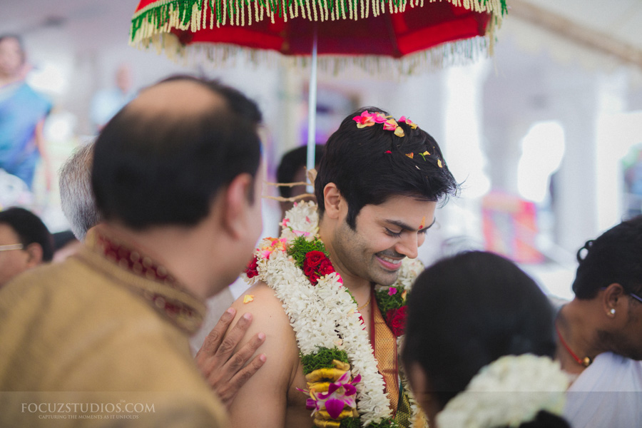 brahmin celebrity wedding Ganesh Venkatraman and Nisha Krishnan