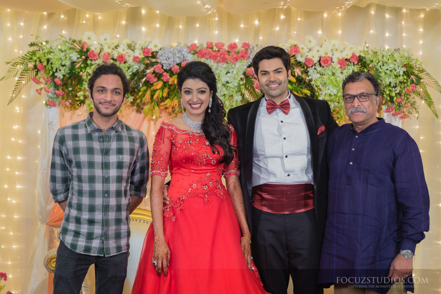 Celebrity Actor Ganesh Venkatram And Nisha Krishnan Wedding