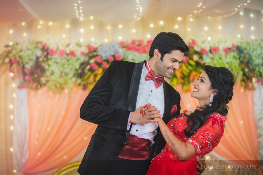 Celebrity Actor Ganesh Venkatram And Nisha Krishnan Wedding