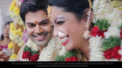 Big boss Ganesh Venkat Wedding photos focuz studios