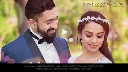 Akshaya Anton wedding film focuz studios