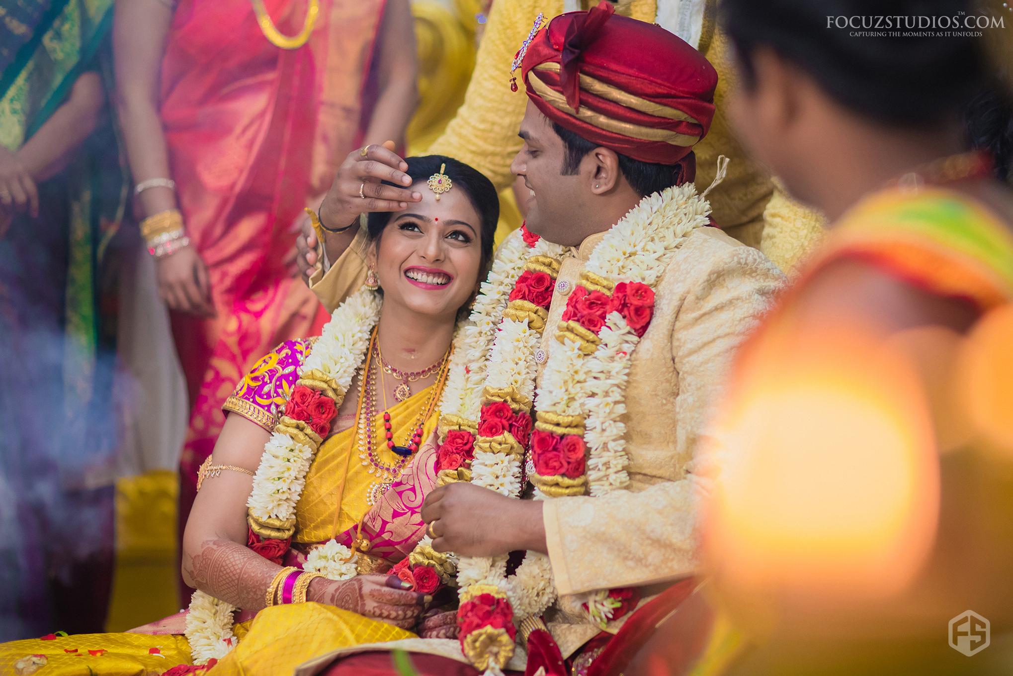 South Indian Wedding Photography Focuz Studios