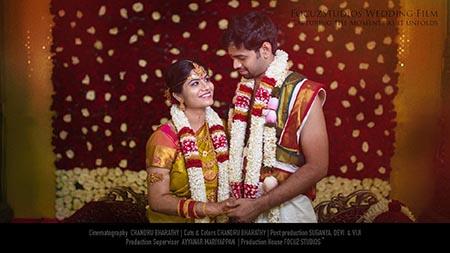 Saranya Maheshwar Wedding Film Focuz Studios