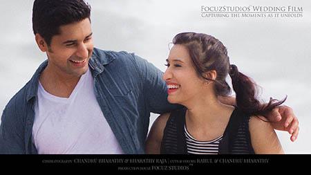 Nisha Sumith wedding film focuz studios chennai