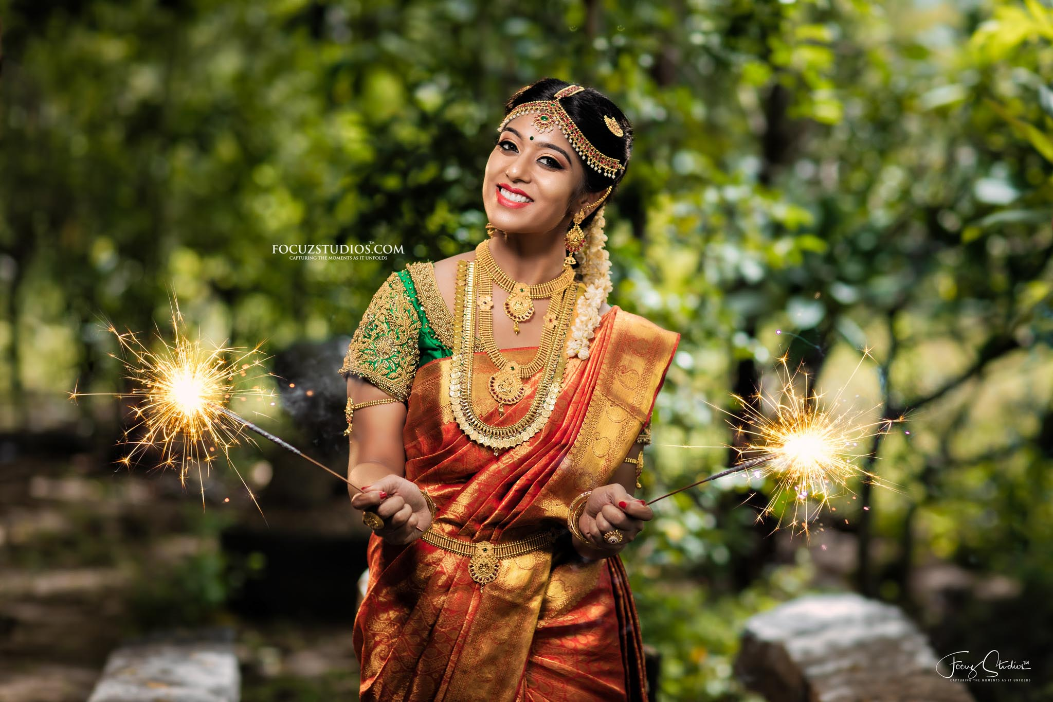 Best South Indian Bridal Portrait Poses Focuz Studios